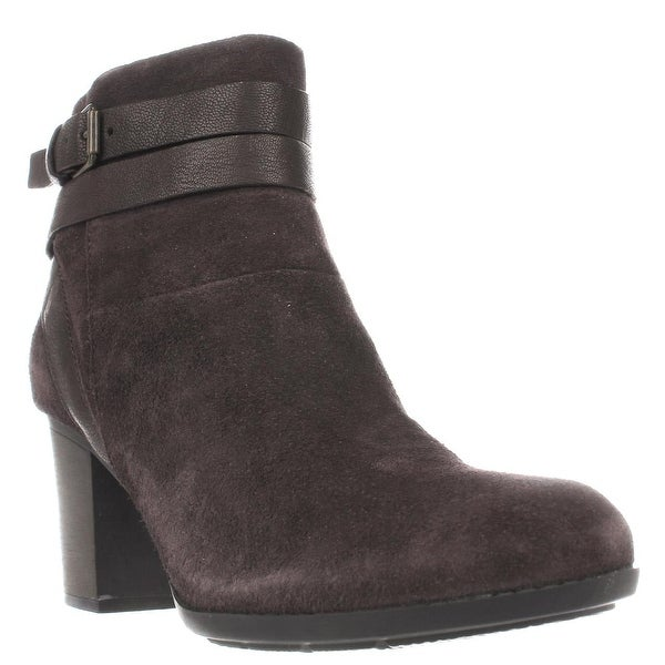 Clarks Enfield River Strappy Ankle Boots, Brown
