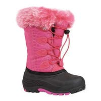 Kamik Children's Snowgypsy Fuchsia Waterproof Nylon