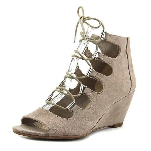 Bar III Womens Kerry Fabric Open Toe Casual Platform Sandals