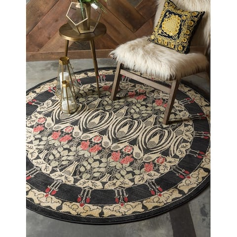 Unique Loom Carnation Edinburgh Geometric Area Rug