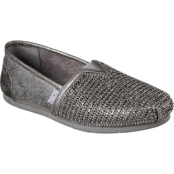 01a78d861c Shop Skechers Women s Luxe BOBS Big Dreamer Alpargata Pewter - On ...