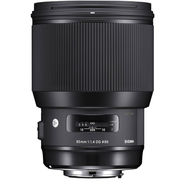 Sigma 85mm f/1.4 DG HSM Art Lens (Canon Mount) - Black