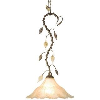 Landmark Lighting 338 Single Light Full Sized Pendant from the Versailles Collection