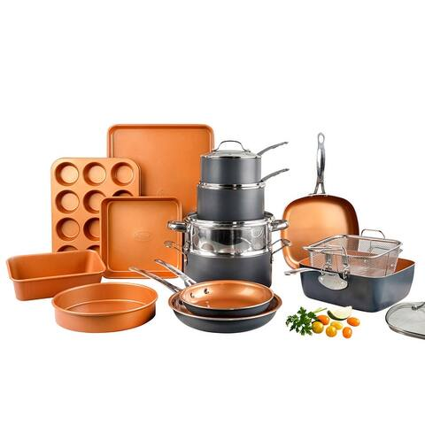 Gotham Steel 20-piece Complete Kitchen Cookware and Bakeware Set