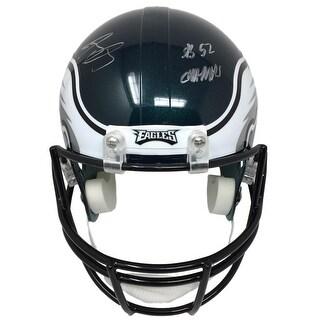 Jay Ajayi Signed Philadelphia Eagles Super Bowl 52 Full Size Replica Helmet JSA