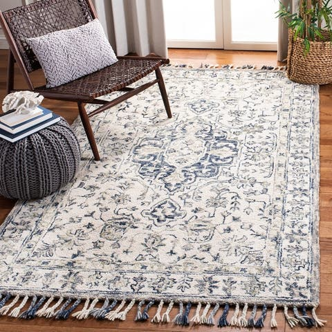Safavieh Handmade Aspen Johar Boho Wool Tassel Rug