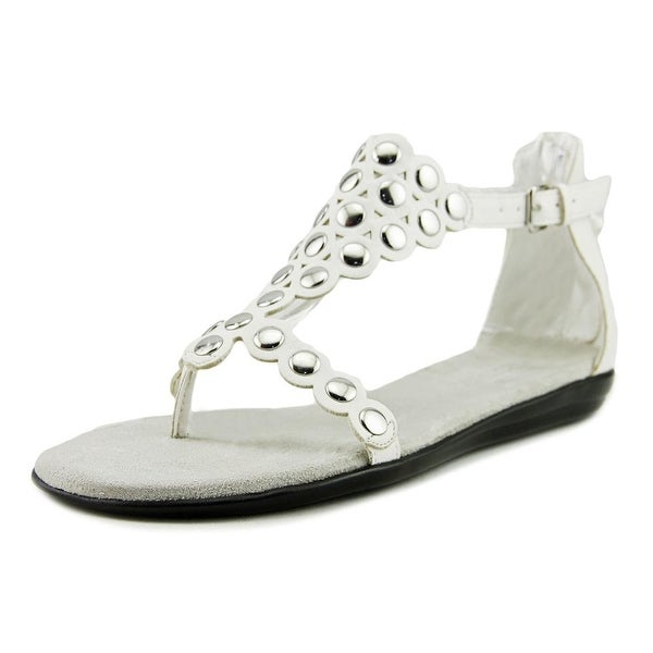 Aerosoles Chlassified Women Open Toe Synthetic White Gladiator Sandal