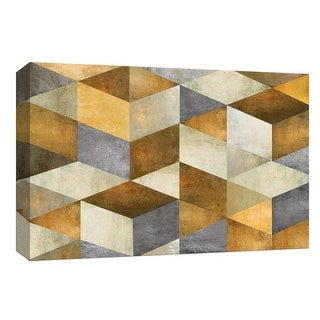 """PTM Images 9-148004  PTM Canvas Collection 8"""" x 10"""" - """"Cubist Light"""" Giclee Abstract Art Print on Canvas"""