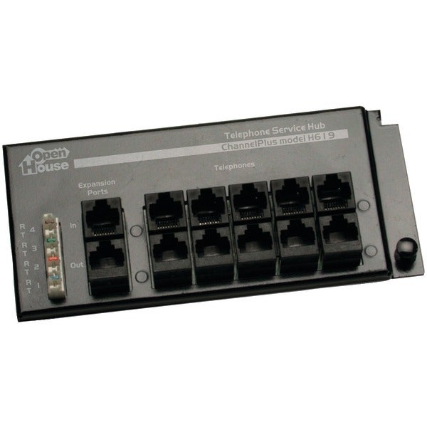 Open House H619 4 X 12 Rj45 Telephone Interface Hub