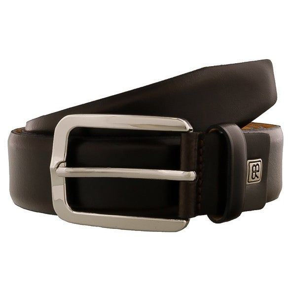 Renato Balestra GAVINO Brown Leather Mens Belt