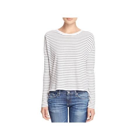 Rag & Bone Womens Casual Top Long Sleeve Striped