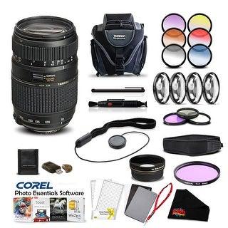 Tamron 200-500 F5-6.3 LD DI Lens for Nikon Pro Accessory Kit - Black