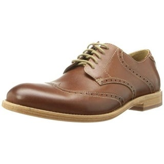 Trask Mens Leather Wingtip Oxfords