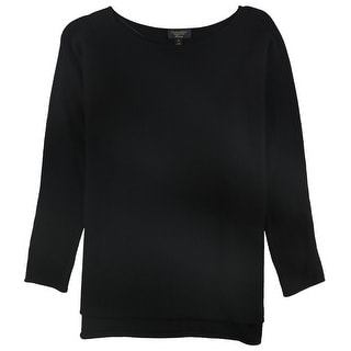 Link to Charter Club Womens Cashmere Pullover Sweater, black, 0X Similar Items in Women's Sweaters