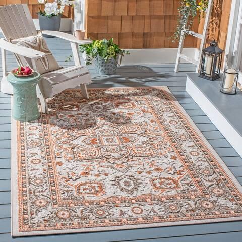 SAFAVIEH Cabana Katalin Indoor/ Outdoor Patio Backyard Rug