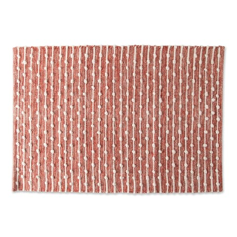 DII Spice Recycled Cotton Loop Rug - Big