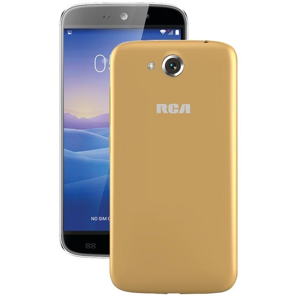 "Rca Rltp5567-Champagne 5.5"" Ips Android(Tm) Quad-Core Smartphone (Beige/Champagne)"