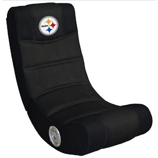 Video Gaming Chair W/Bluetooth - NFL- Pittsburgh Steelers