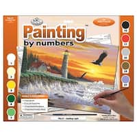 """Paint By Number Kit 15.375""""X11.25""""-Guiding Light"""