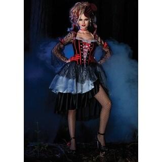 Deluxe Womens Immortal Queen Vampire Halloween Costume