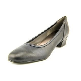 David Tate Supreme Women W Round Toe Leather Blue Heels