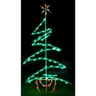 Christmas at Winterland WL-GM105-LED LED Light Zig Zag Tree