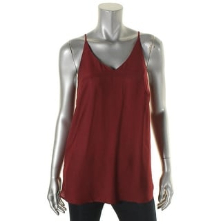 Kensie Womens Camisole Top V-Neck Sleeveless