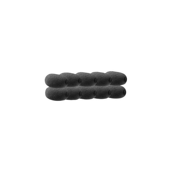 Jabra Black MicFoam - 10 Pack Black MicFoam 10pk