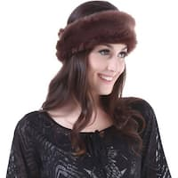 Mad Style Chocolate Fur Headwrap