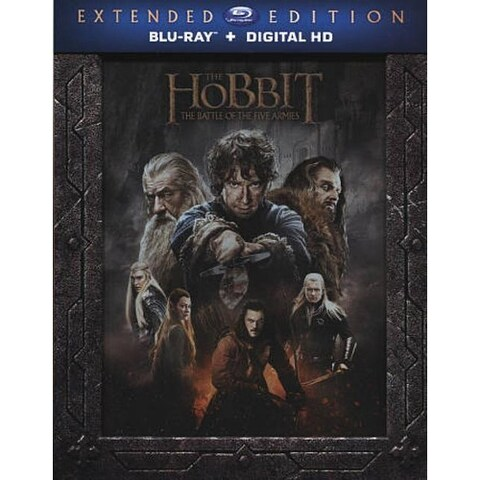 Hobbit: The Battle of the Five Armies - Blu-ray Disc