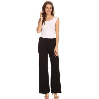 Shore Trendz Women's Wide Leg Boho Palazzo Pants Made in the USA (4 options available)