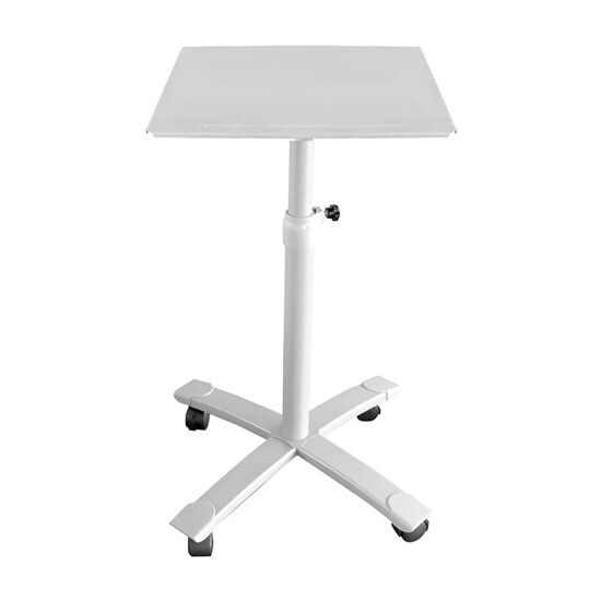 Universal Platform Projector Stand/Trolley with Height, Angle,Tilt Adjustments and Rolling Wheel Base
