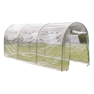 Link to vidaXL Outdoor Greenhouse Garden Vegetable Flower Plant Hot Grow House Shade Similar Items in Gardening