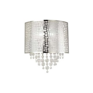 "Canarm IWL394A11 Benito Single Light 8"" High Wall Sconce - ADA - Chrome"