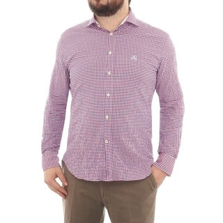 Corneliani Long Sleeve Collared Button Down Men Regular Casual