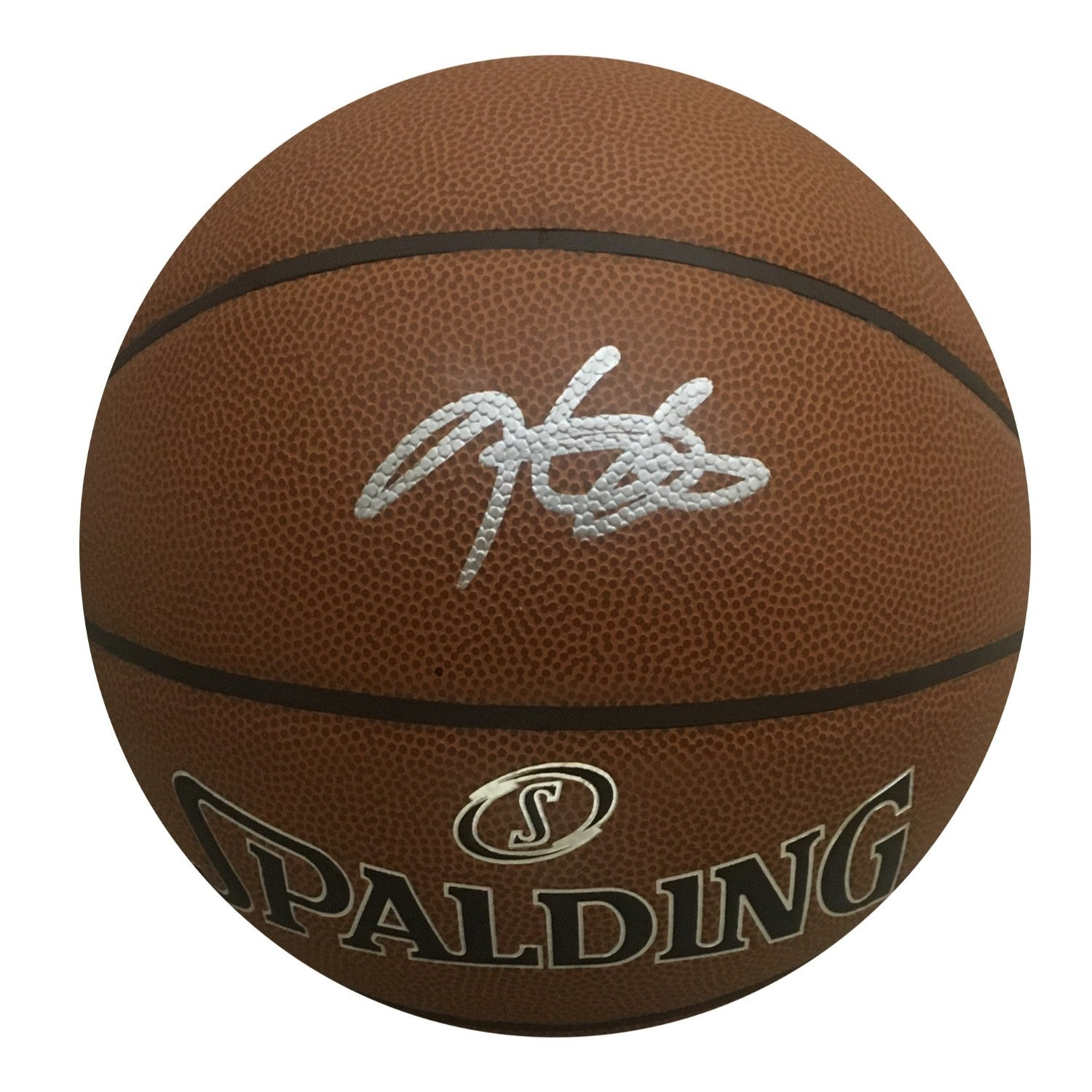 outlet store f8b09 b9a5e Kevin Durant Golden State Warriors Autographed NBA Signed Basketball JSA  COA 3