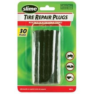 Slime 1031-A Tubeless Tire Repair Plug String, Black