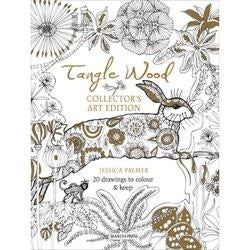Tangle Wood Poster Book - Search Press Books