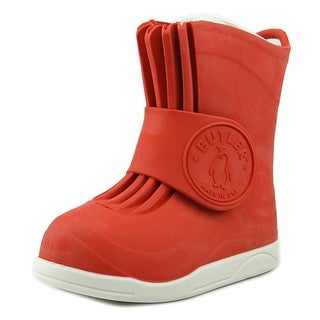 Butler Emperor Supreme Youth Round Toe Synthetic Red Rain Boot