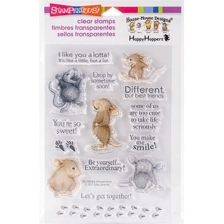 Stampendous Perfectly Clear Stamps -Home So Sweet