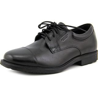 Rockport Essential Details WP Cap Toe  W Cap Toe Leather  Oxford