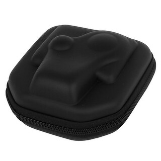 Black Zip Up EVA Camera Protection Case Bag Holder for GoPro Hero 4 3+ 3 2