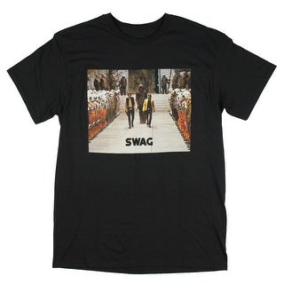 Star Wars Rebel Jedi Swag Chewbacca Han Solo Luke Skywalker Men's Black T-Shirt