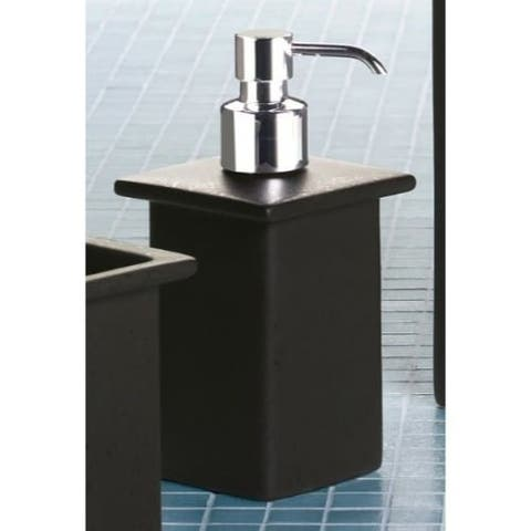 Nameeks 6655 Gedy Collection Free Standing Soap Dispenser - Moka