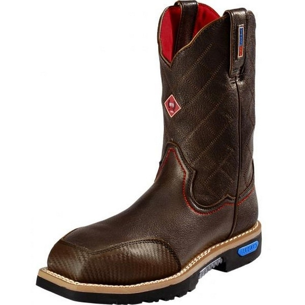 Cinch Work Boots Mens WRX CT FR Safety Toe Tough Brown