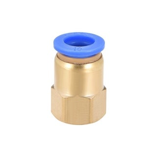 """1/4"""" G Female Straight Thread 10mm Push In Joint Pneumatic Quick Fittings - 1/4"""" G x 10mm"""