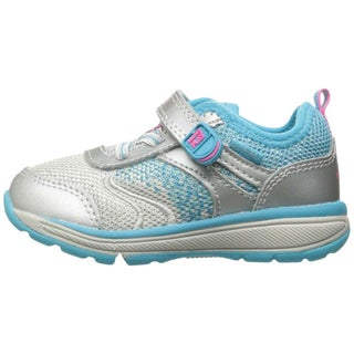 Stride Rite Girls Ellie Low Top Walking Shoes (Option: Silver - 3 xw us girls)