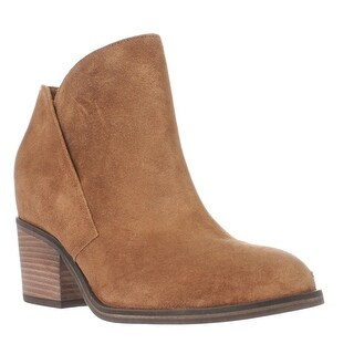 Jessica Simpson Tandra Short Ankle Boots - Honey Brown