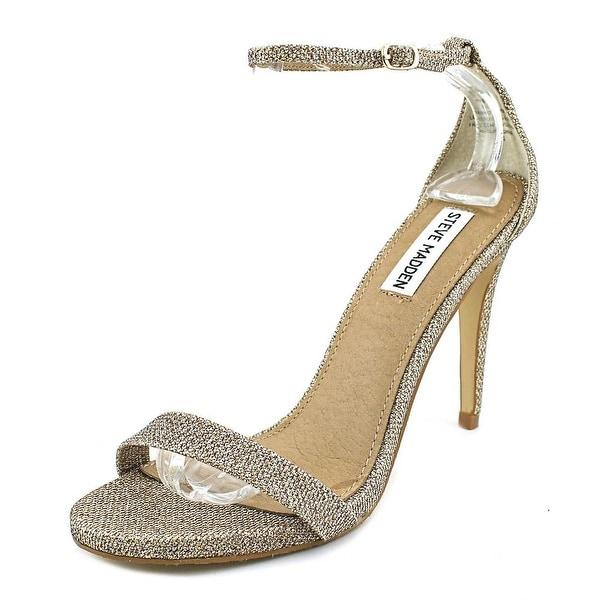 Steve Madden Stecy Women Gold Foil Sandals