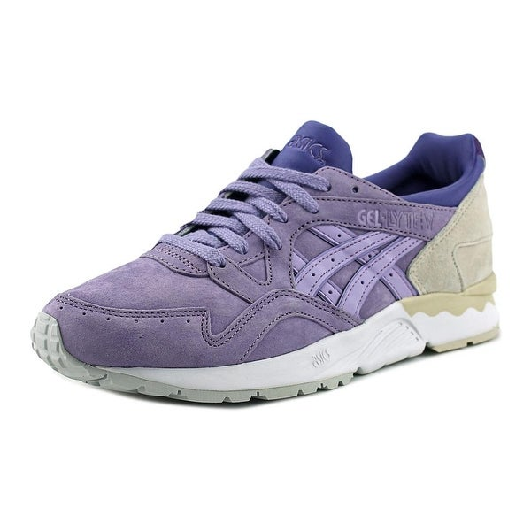 official photos 86d52 eaa32 Shop Asics Gel-Lyte V Round Toe Suede Sneakers - Free ...